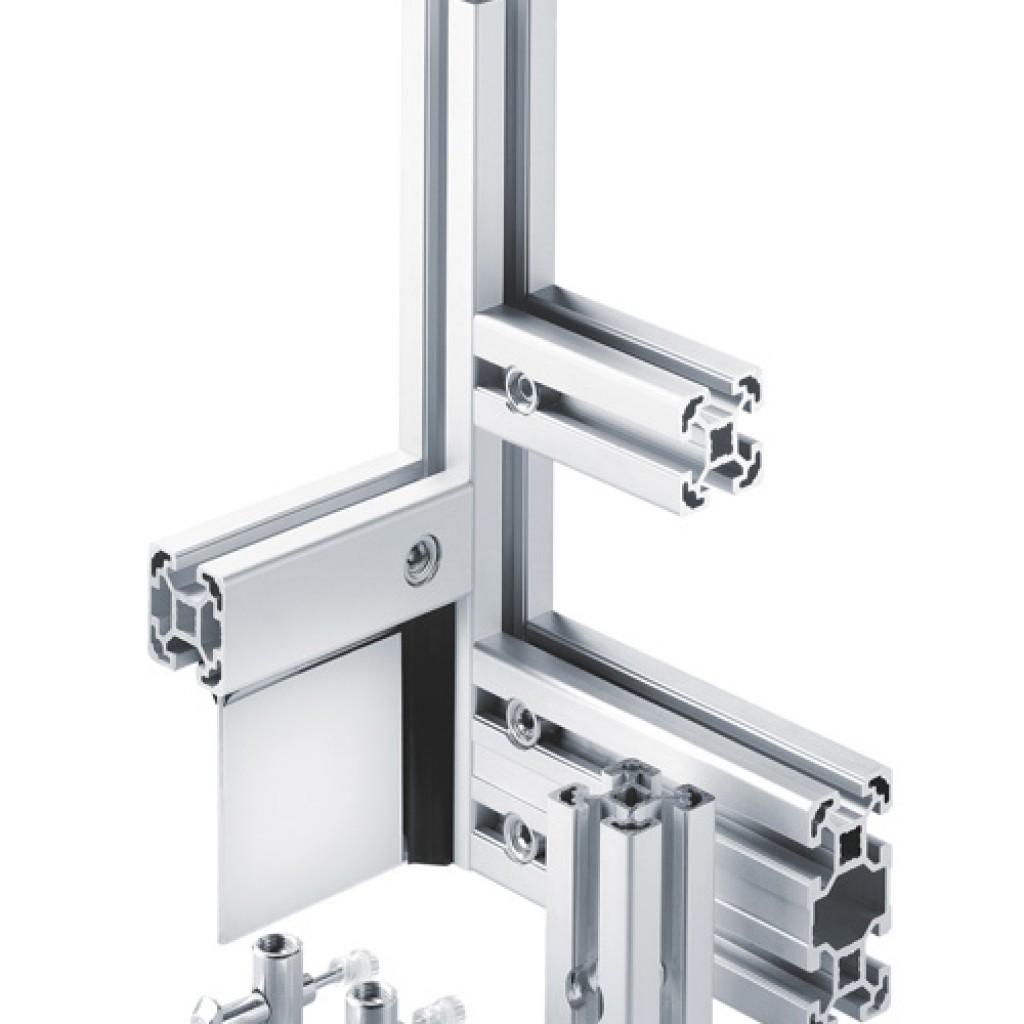 Aluminium Structural Framing - Profile Connectors - ESA UK